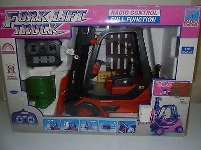 FORK LIFT Forklift TRUCK ** Radio Control ** VEHICLE TOY 1/6 Scale - NEW