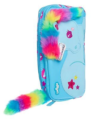 Smiggle Unicorn Rainbow 🌈 Tail Scented Pencil Case New Promotion