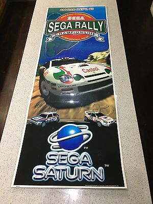 Original Sega Rally Poster (Fully Laminated)