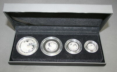 2009 UK Britannia Four-Coin Silver Proof Set