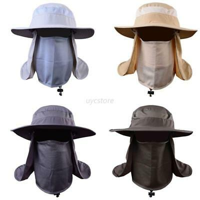 Hiking Hat Fishing Hat Outdoor Anti Sun Wind Neck Face Protection Flap Cap Brim