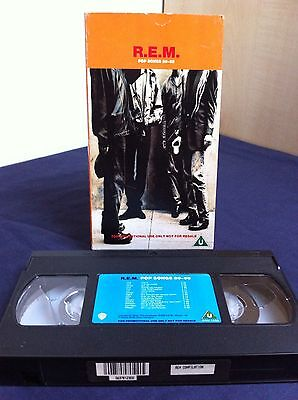 R.E.M Pop Songs 89-95 Promo VHS SAM1559 (1995)
