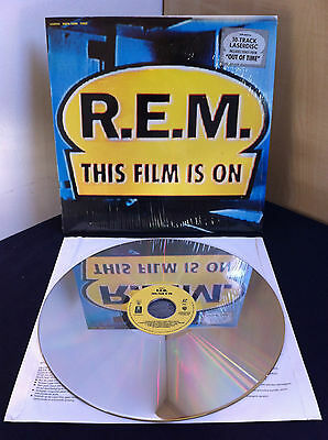 R.E.M This Film Is On Rare European Laserdisc (1991)