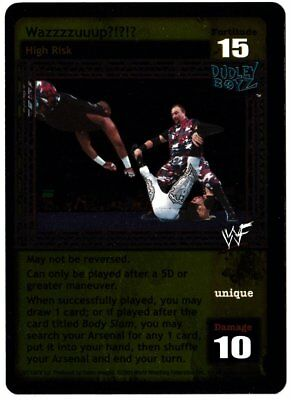WWE WWF Raw Deal V3.0 Backlash Ultra Rare Foil 87/150 Wazzzzuuup?!?!?