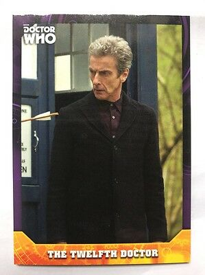 Topps Dr Who Signature Series The Twelfth Doctor 02/10 Purple Parallel