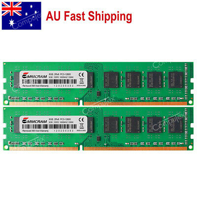 AU 16GB 2x8GB DDR3-1600 PC3 DIMM MEMORY Fr Dell Optiplex 790 780 580 990 980 380