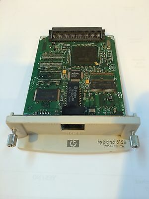 HP JetDirect 615N J6057A EIO Ethernet Network Card Server + Warranty