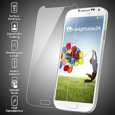 PREMIUM TEMPERED GLASS SCREEN PROTECTOR FILM FOR SAMSUNG GALAXY S4 i9500 & 19505