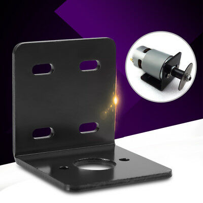 Black High Hardness Right Angle Bracket Support Fixed Base for NO. 775 Motor MP