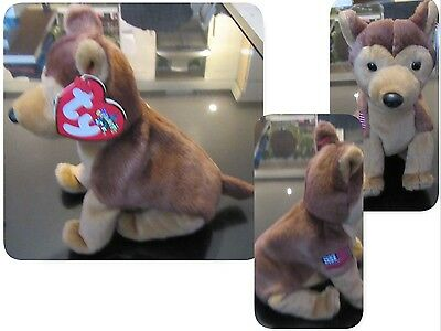 Beanie baby. Courage with tag.