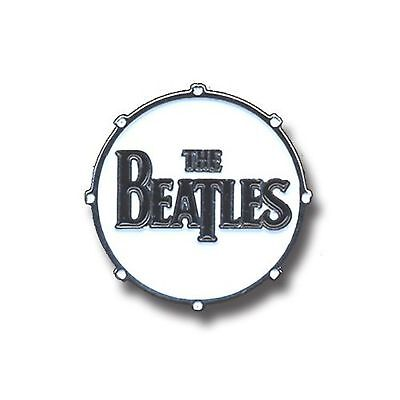 The Beatles Drum Drop T Logo new Official Pin button Badge One Size