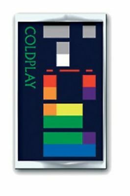 Coldplay X & Y Album band logo new Official metal Pin Badge One Size