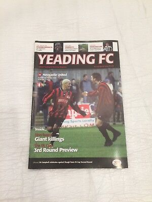 YEADING v NEWCASTLE UTD 2004/05 (F.A Cup)