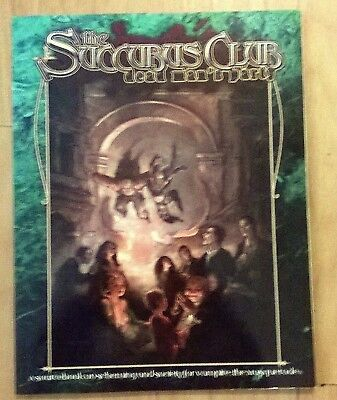 Vampire the Masquerade: THE SUCCUBUS CLUB - DEAD MAN 'S PARTY - GOOD CONDITION
