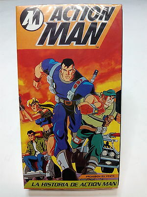 Cinta Vhs Historia Action Man *** Nuevo*** Sealed*
