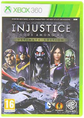 Injustice Gods Among Us Ult. Edx360 - Xbox 360 Brand New Free Delivery