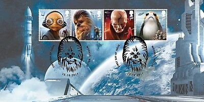 Star Wars Bradbury First Day Cover BFDC Stamps