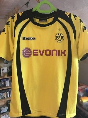 Vintage Borussia Dortmund 2009/10 Kappa Home Kit Large Boys