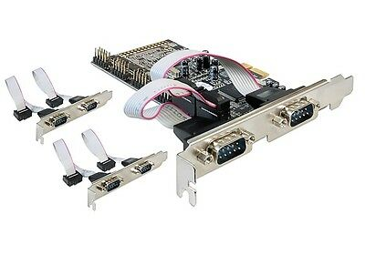 Delock 89347 6 x Puerto Serie RS-232 PCI Express
