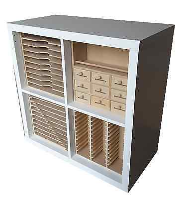 Range of Craft Storage inserts for Ikea Kallax cubes (can be used free-standing)