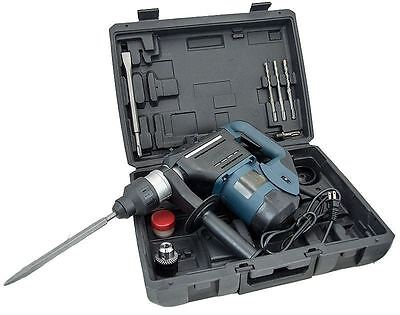 """1-1/2"""" SDS Rotary Hammer Drill Kit Concrete Demolition Tool 1.5"""" w/ Bits Case a5"""