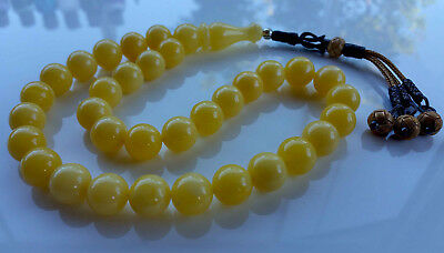 Amber  Bakelite  Prayer Worry Beads Tasbih Tasbeeh تسبيح Masbaha مسبحة