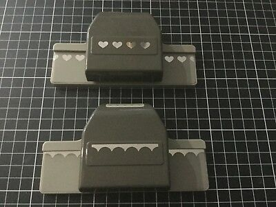 Stampin Up Boarder Punches x 2
