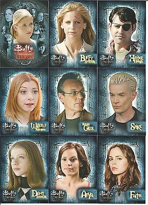 Buffy The Vampire Slayer (TVS) Season 7 - Complete Card SET (90) 2003 - NM