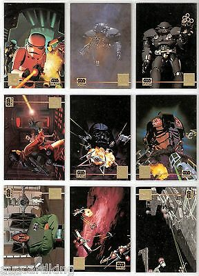 Star Wars - Galaxy Series 3 - Lucasarts Complete Chase Card Set (12) L1-12 - NM