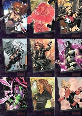 Marvel The Women of Marvel Series 2 - Complete Card SET (90) - 2013 - NM