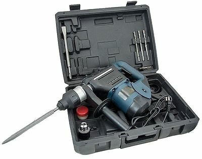 """1-1/2"""" SDS Rotary Hammer Drill Kit Concrete Demolition Tool 1.5"""" w/ Bits Case a3"""