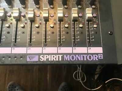 Soundcraft Spirit Monitor2 Professional Mixing Console 24 Channel