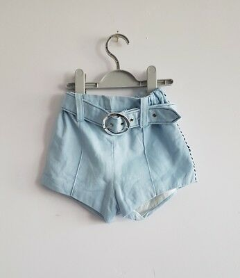 Vintage Major Minors Blue Shorts Age 5