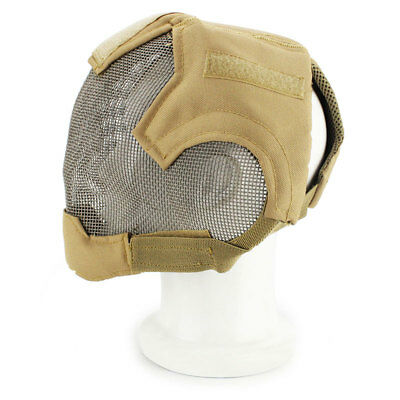 Tactical Face Masks Protection Mask Steel Airsoft Paintball Accessories