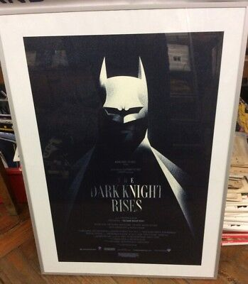 The Dark Knight Rises Limited Edition Poster