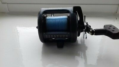 abu garcia reel commodore one piece grathite frame.