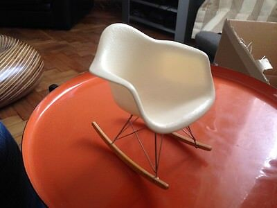 Miniature Vitra collection RAR rocking chair Charles and Ray  Eames