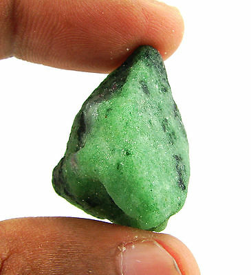 62.00 Ct Natural Ruby Zoisite / Anyolite Loose Gemstone Rough Specimen - 10172