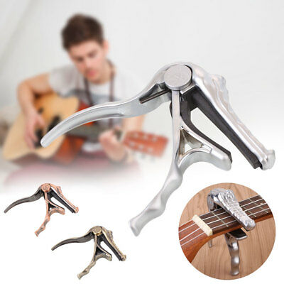 A007G Crocodile Shaped Guitar Capo Tone Adjustable Instrument Creative