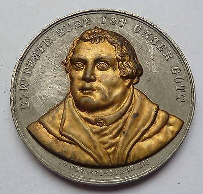 Martin Luther(1483-1546) Medaille - Lutherfestspiele  1890 - selten !