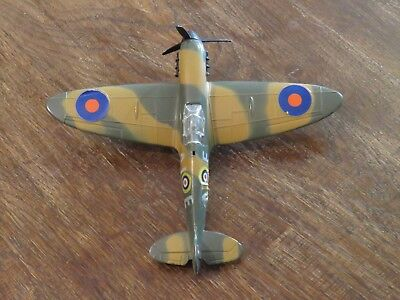 Dinky toys Spitfire Mk II for spares or repair. Model #719.