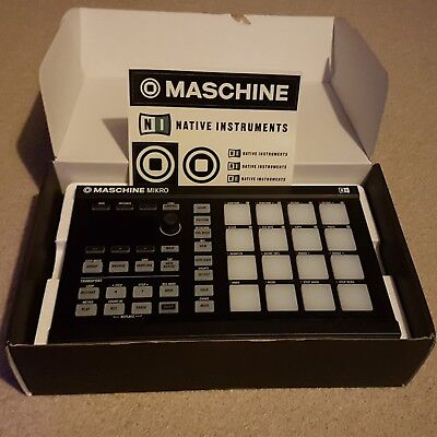 Native Instruments Maschine Mikro MK2 (With Komplete Select & Extras)