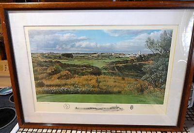 The 18th Hole Royal Birkdale Golf Club Southport, England 1991 by Linda Hartough