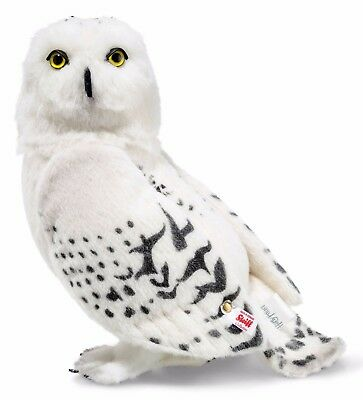 Steiff Harry Potter Hedwig Snowy Owl White Alpaca Jointed Limited Ed 30cm 354854
