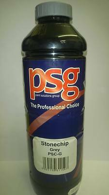 Stone Chip U-Pol UPOL Gravitex Grey in PSG Label 1 ltr over paintable