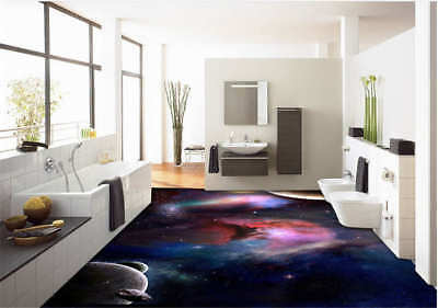 Dreamlike View 3D Floor Mural Photo Flooring Wallpaper Home Print Decoration Kid
