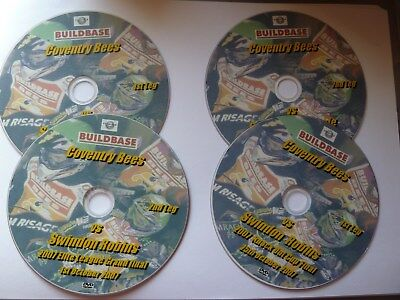 4 Coventry Speedway Dvds