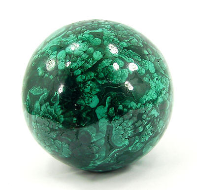 1756.00 Ct Natural Green Malachite Gemstone Sphere Ball Healing Crystal - 10255