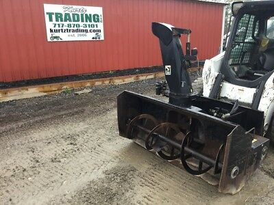 "2008 Loftness 66"" High Flow Snowblower for Skid Steer Loader!"