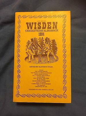 wisden cricketers almanack 1994